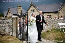 Traditional church wedding In Yorkshire