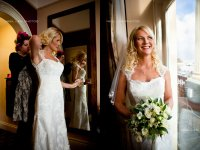 bride ready at Crown Spa Hotel Scarboro