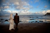 winter wedding Scarborough beach